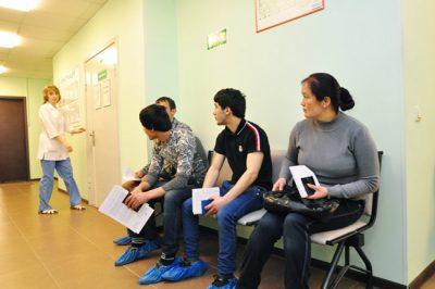 Медицинское освидетельствование иностранных граждан для фмс