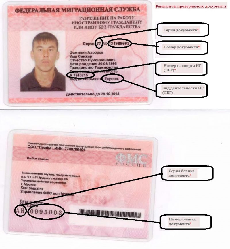 Как проверит подлинность патента на работу временная регистрация для граждан казахстана в москве