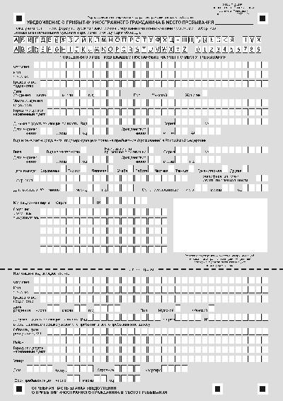 Обязательна регистрация граждан прибывших на срок какие документы нужны для временной регистрации по рвп